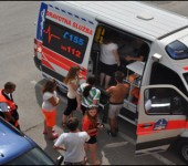 Návšteva sanitky - SČK 2012