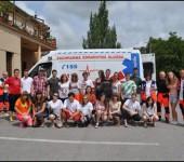 Spolupráca pri Víkende prvej pomoci so SČK 2012