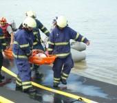 Takt. cvičenie Šamorín2013 - spolupráca s hasičmi