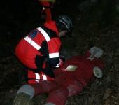 NHPO Lešť 2014 - hľadanie zranených po páde lietadla