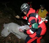 NHPO Lešť 2014 - hľadanie zranených