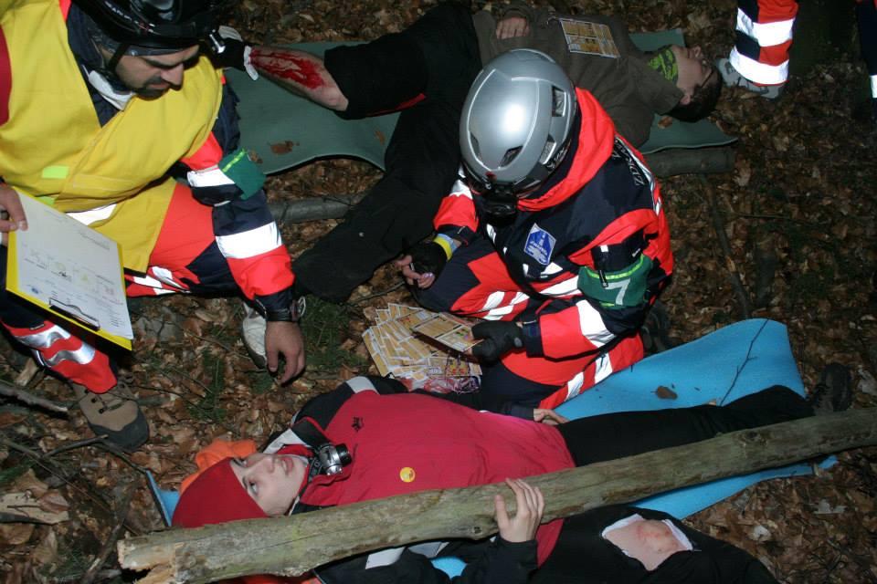 NHPO Lešť 2014 - triedenie zranených