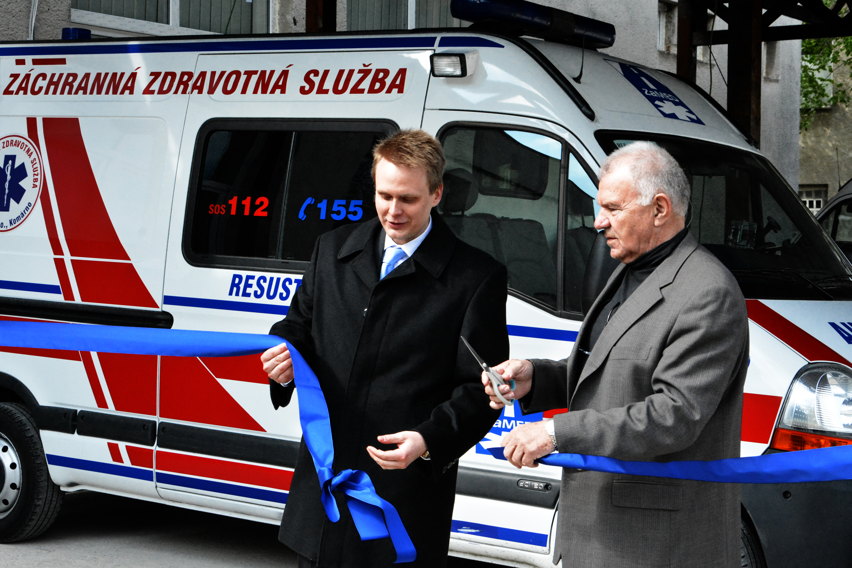 Polák, Csekes - slávnostné otvorenie RZP Komárno 2014