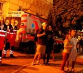 Čakanie na ohňostroj Komárňanské dni 2013