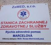 Otvorenie stanice RZP Marcelová 2014