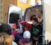 Fixačné pomôcky - ukážka v ZŠ Ipeľský Sokolec 2014