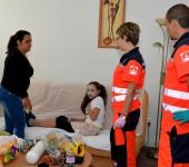 Úloha Miška - dieťa s dýchacími problémami - KN Rescue 2014
