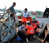 NHPO - požiar lode - KN Rescue 2014