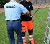 Bonusová úloha - zlaňovanie u hasičov