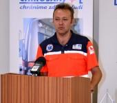 Mgr. Bozsaky - rozhodca Komárno Rescue 2015
