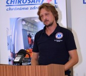 Bc. Száz - hlavný rozhodca súťaže Komárno Rescue