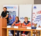MUDr. Norbert Moravanský ako rozhodca súťaže Komárno Rescue 2016