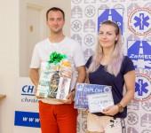 3. miesto - ZZS ZaMED - Bc. Adrián Hráček, Bc. Annamária Ivanová