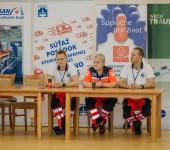 Komárno Rescue 2018 - otvorenie súťaže - PhDr. Matej Polák, MUDr. Renata Kratochvilová, PhDr. Csaba Bozsaky