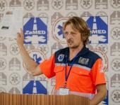Komárno Rescue 2018 - otvorenie súťaže - Mgr.Bc. Roland Száz
