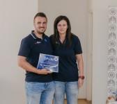 2. miesto – KE Záchranka II - Mgr. Viktória Weiserová a Bc. Lukáš Vaško